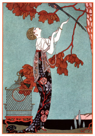 Fashion Illustration, 1914 Art Print