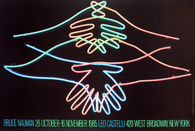 Big Welcome Collectable Print by Bruce Nauman