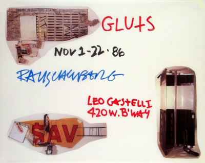 Gluts Collectable Print by Robert Rauschenberg