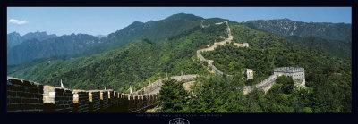 Great Wall of China Posters by Tomas Barbudo