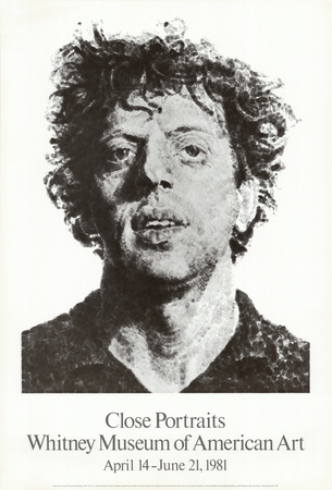 Large Phil Fingerprint, 1979 Samlertryk af Chuck Close