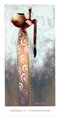 Aquarius II Art by Maurice Evans