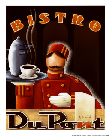 Bistro DuPont Posters by Michael L. Kungl
