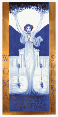 Woman Suffrage Giclee Print by Evelyn Rumsey Cary