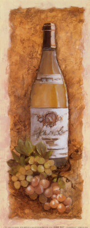 Chardonnay Art Print