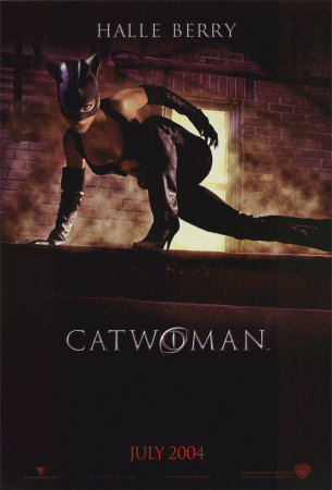 catwoman halle berry poster. Catwoman Double-sided poster