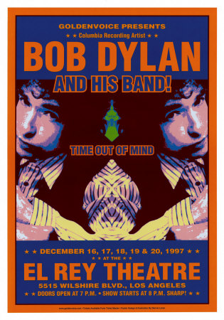 Bob Dylan - At The El Rey Art Print