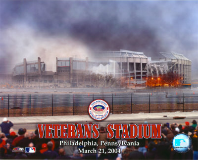 Veterans Stadium - Implosion 2 Photo