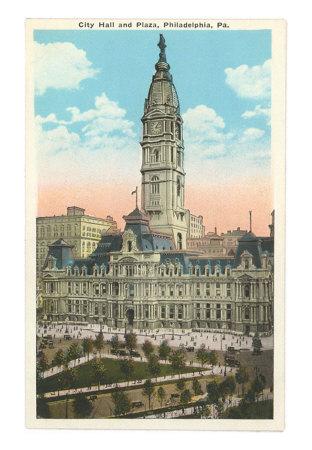 City Hall, Philadelphia, Pennsylvania Art Print