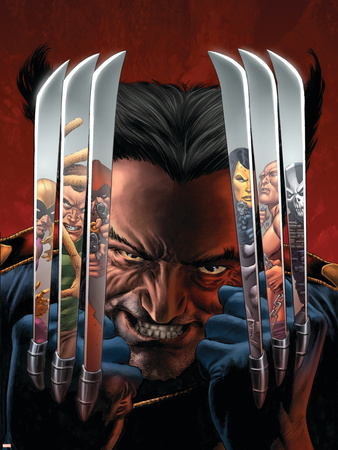 House of M: Masters of Evil No.2 Cover: Wolverine Wall Decal by Mike Perkins
