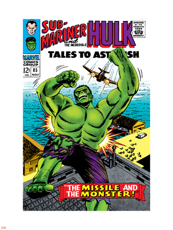 Tales to Astonish No.85 Cover: Hulk Plastic Sign by Bill Everett