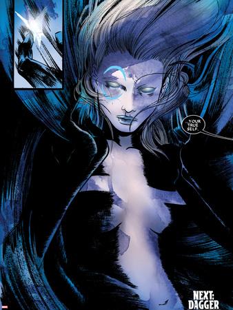 Spider-Island: Cloak & Dagger No.2: Dagger Wall Decal by Emma Rios