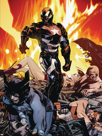 Dark Reign: Lethal Legion No.3 Cover: Iron Patriot Wall Decal by Tommy Lee Edwards