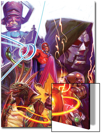 Marvel 1985 Must Have: Marvel 1985 No.2 Cover: Magneto Prints by Tommy Lee Edwards