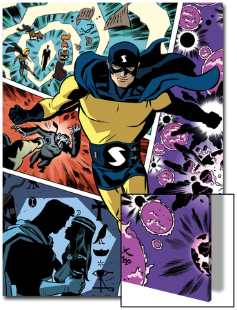 The Age Of The Sentry No.1 Cover: Sentry Art by Dave Bullock