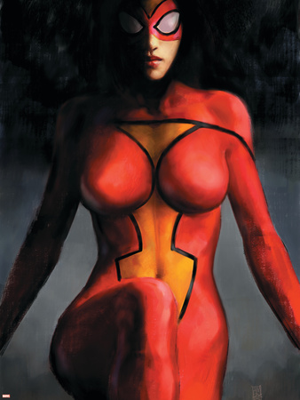 Spider-Woman No.1 Cover: Spider Woman Wall Decal by Alex Maleev