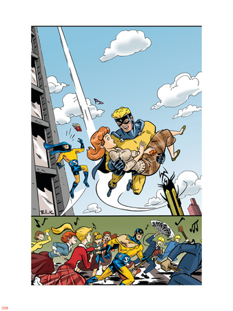 The Age Of The Sentry No.4 Cover: Sentry Plastic Sign by Dave Bullock