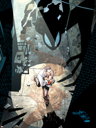 Spider-Man: House Of M No.2 Cover: J. Jonah Jameson Wall Decal by Mark Bagley
