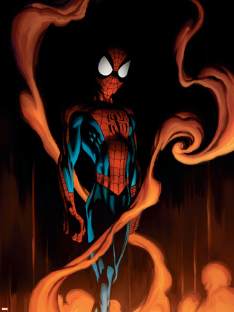 Ultimate Spider-Man No.59 Cover: Spider-Man Wall Decal by Mark Bagley