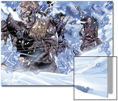 Thor Son Of Asgard No.3 Group: Thor, Sif and Balder Art by Greg Tocchini