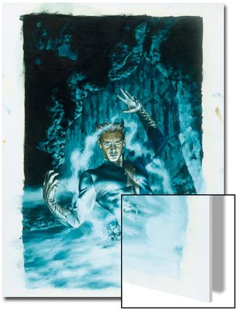 Son Of M No.2 Cover: Quicksilver Prints by Roy Allan Martinez