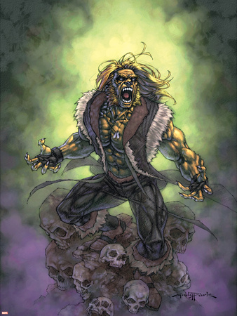 Weapon X No.27 Cover: Sabretooth Wall Decal