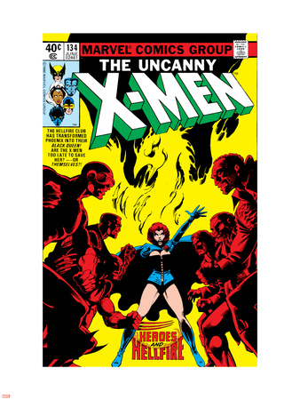 Uncanny X-Men No.134 Cover: Grey Wall Decal by John Byrne