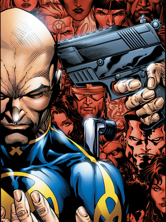 Weapon X: Days Of Future Now No.2 Cover: Professor X Wall Decal by Bart Sears