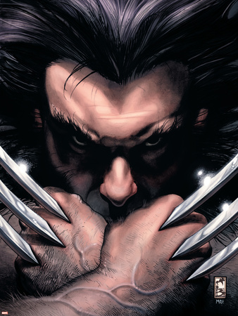 Wolverine No.55 Cover: Wolverine Wall Decal by Simone Bianchi
