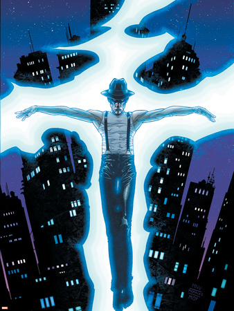District X No.4 Cover: Ortega Wall Decal by Steve MCNiven