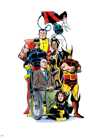 Essential X-Men V3: Shadowcat Wall Decal by John Byrne