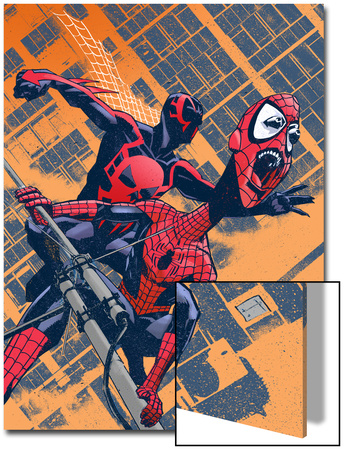 Exiles No.96 Cover: Spider-Man Prints by Tomm Coker