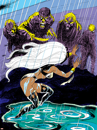 Classic X-Men No.20 Cover: Storm Wall Decal by John Bolton