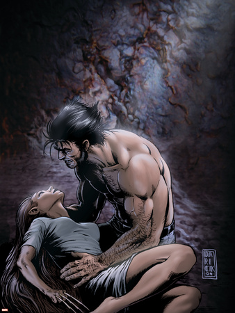 Wolverine No.18 Cover: Wolverine and Native Plastic Sign by Darick Robertson