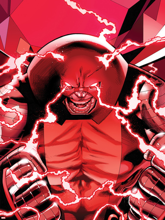 Uncanny X-Men No.542: Juggernaut Transforming Plastic Sign by Greg Land