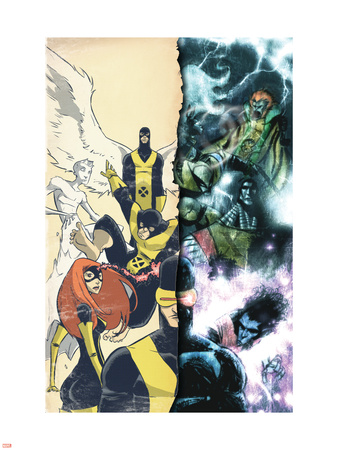 Uncanny X-Men: First Class Giant-Size Special No.1 Cover: Cyclops Plastic Sign by Skottie Young