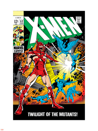 X-Men No.52 Cover: Erik The Red and X-Men Wall Decal by Werner Roth