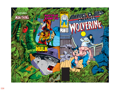 Marvel Comics Presents No.6 Cover: Cyclops Plastic Sign by John Buscema