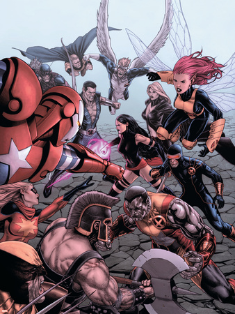 Dark Avengers/Uncanny X-Men: Exodus No.1 Cover: Colossus Plastic Sign by Steve MCNiven