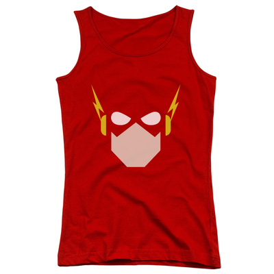 Juniors Tank Top: Justice League – Flash Head Tank Top