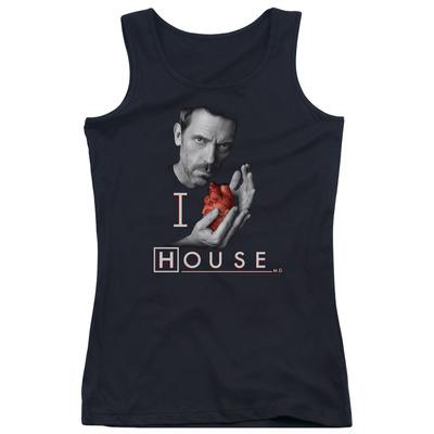 Juniors Tank Top: House - I Heart House Womens Tank Tops