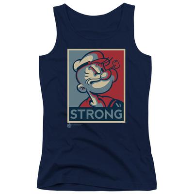 Juniors Tank Top: Popeye - Strong Tank Top