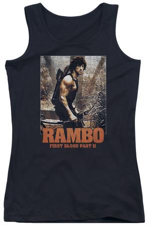 Juniors Tank Top: Rambo First Blood II - The Hunt Tank Top