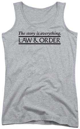 Juniors Tank Top: Law & Order – Story Tank Top