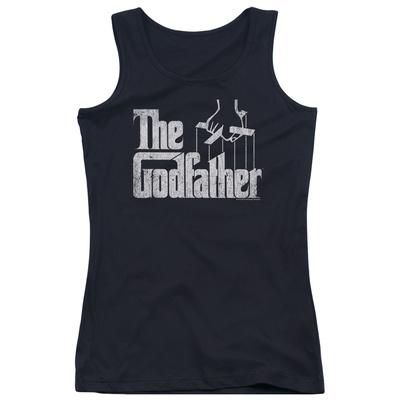 Juniors Tank Top: Godfather - Logo Tank Top