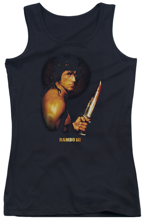Juniors Tank Top: Rambo III - Blood Lust Tank Top!