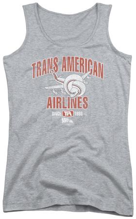 Juniors Tank Top: Airplane - Trans American Tank Top