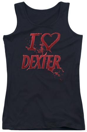 Juniors Tank Top: Dexter - I Heart Dexter Tank Top