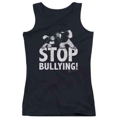 Juniors Tank Top: Popeye - Stop Bullying Tank Top
