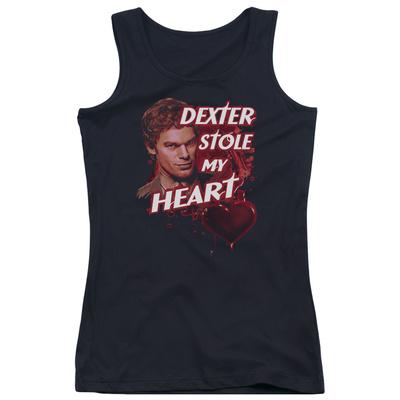 Juniors Tank Top: Dexter - Bloody Heart Tank Top